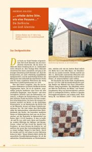 thumbnail of Kirchenrestaurierung in Groß Glienicke – in Offene Kirchen 2020